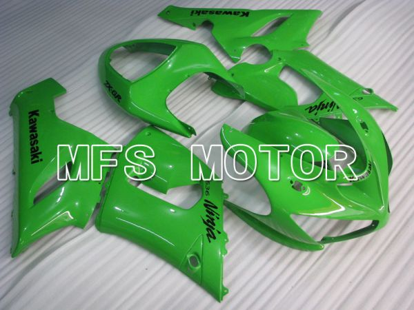 Kawasaki NINJA ZX6R 2005-2006 Injection ABS Fairing - Factory Style - Green - MFS3760