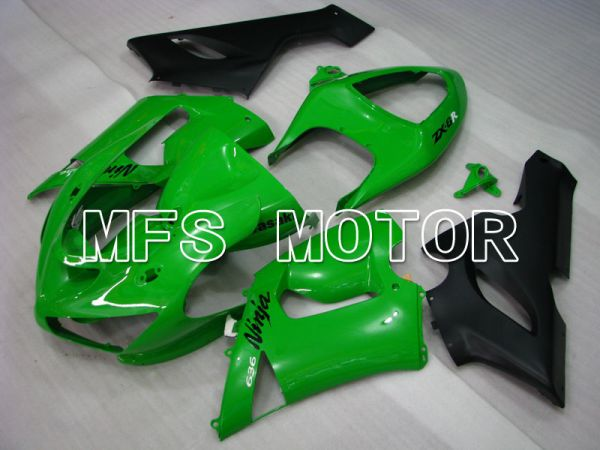 Kawasaki NINJA ZX6R 2005-2006 Injection ABS Fairing - Factory Style - Green - MFS3762