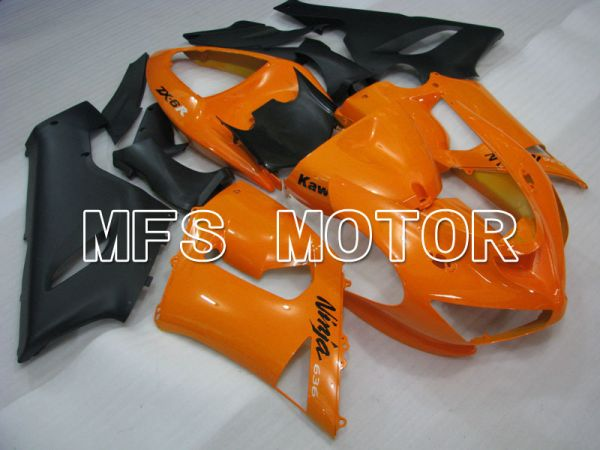 Kawasaki NINJA ZX6R 2005-2006 Injection ABS Fairing - Factory Style - Orange - MFS3763