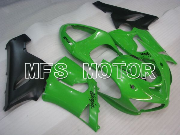 Kawasaki NINJA ZX6R 2005-2006 Injection ABS Fairing - Factory Style - Green - MFS3768