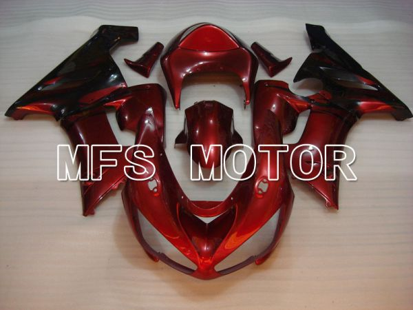 Kawasaki NINJA ZX6R 2005-2006 Injection ABS Fairing - Factory Style - Red wine color - MFS3769