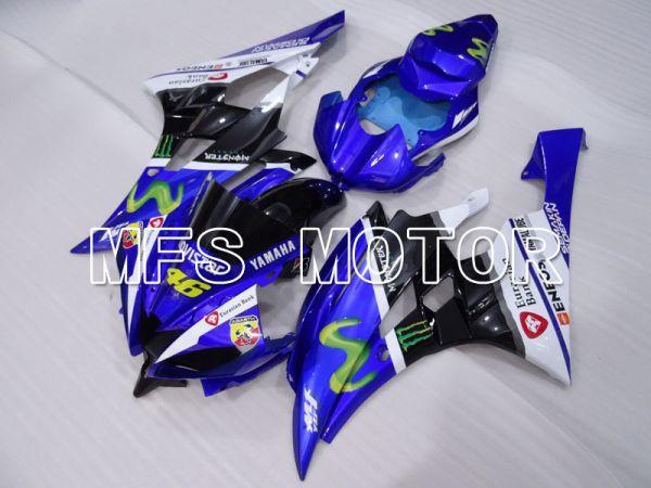 Yamaha YZF-R6 2006-2007 Injection ABS Fairing - Movistar - Blue Black - MFS3789