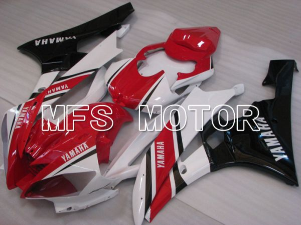 Yamaha YZF-R6 2006-2007 Injection ABS Fairing - Factory Style - Red White - MFS3794