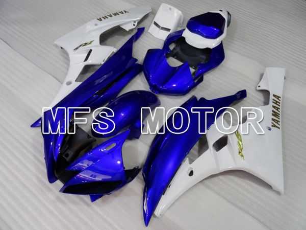 Yamaha YZF-R6 2006-2007 Injection ABS Fairing - Factory Style - Blue White - MFS3826