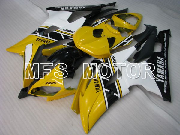 Yamaha YZF-R6 2008-2016 Injection ABS Fairing - Factory Style - White Yellow - MFS3833