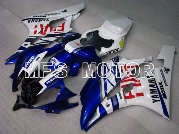Yamaha YZF-R6 2006-2007 Injection ABS Fairing - FIAT - Blue White - MFS3846