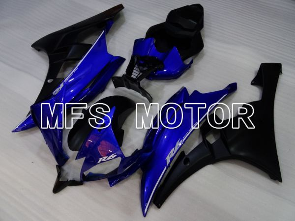 Yamaha YZF-R6 2006-2007 Injection ABS Fairing - Factory Style - Blue Black Matte - MFS3851