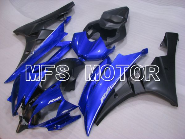 Yamaha YZF-R6 2006-2007 Injection ABS Fairing - Factory Style - Blue Black Matte - MFS3855