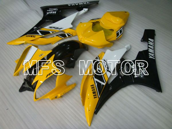 Yamaha YZF-R6 2006-2007 Injection ABS Fairing - Factory Style - Black Yellow - MFS3863