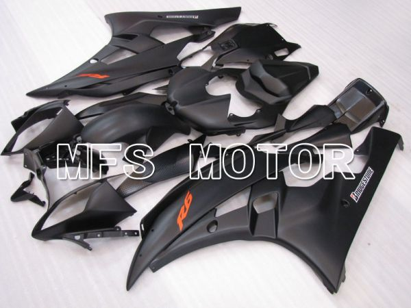 Yamaha YZF-R6 2006-2007 Injection ABS Fairing - Factory Style - Black Matte - MFS3874