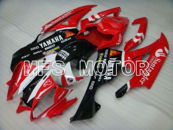 Yamaha YZF-R6 2006-2007 Injection ABS Fairing - Santander - Red Black - MFS3881