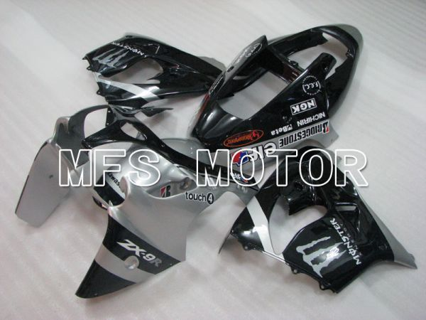 Kawasaki NINJA ZX9R 2002-2003 ABS Fairing - Factory Style - Black Silver - MFS3882