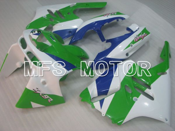 Kawasaki NINJA ZX9R 1994-1997 ABS Fairing - Factory Style - Blue Green White - MFS3892