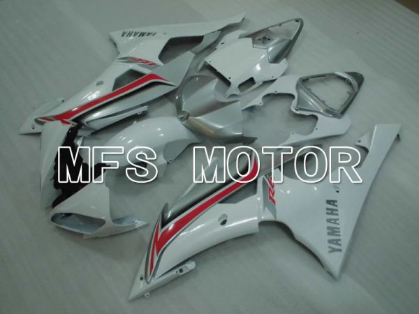 Yamaha YZF-R6 2008-2016 Injection ABS Fairing - Factory Style - White - MFS3896