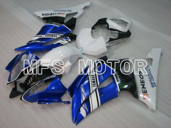 Yamaha YZF-R6 2008-2016 Injection ABS Fairing - Monster - Blue White Black - MFS3927
