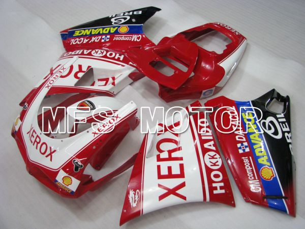 Ducati 748 / 998 / 996 1994-2002 Injection ABS Fairing - Xerox - Red White - MFS3939