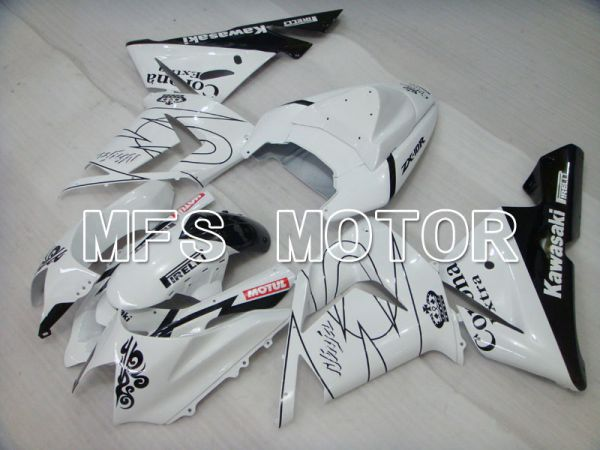 Kawasaki NINJA ZX10R 2004-2005 Injection ABS Fairing - Corona - White - MFS3940