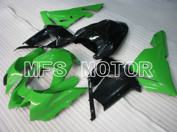 Kawasaki NINJA ZX10R 2004-2005 Injection ABS Fairing - Factory Style - Black Green - MFS3942