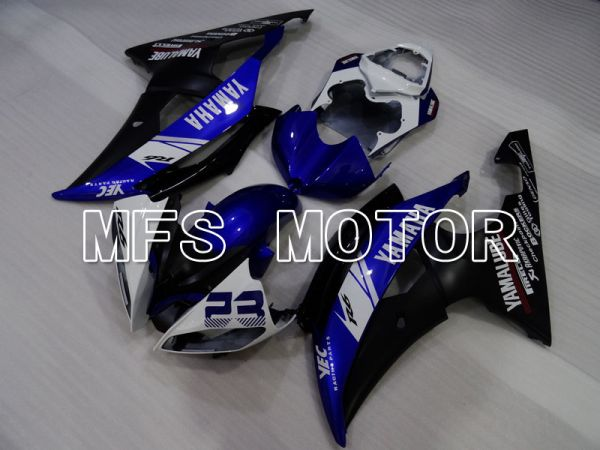 Yamaha YZF-R6 2008-2016 Injection ABS Fairing - Factory Style - Blue Black - MFS3944