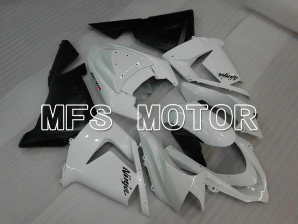 Kawasaki NINJA ZX10R 2004-2005 Injection ABS Fairing - Factory Style - Black White - MFS3945