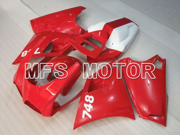 Ducati 748 / 998 / 996 1994-2002 Injection ABS Fairing - Factory Style - Red White - MFS3949