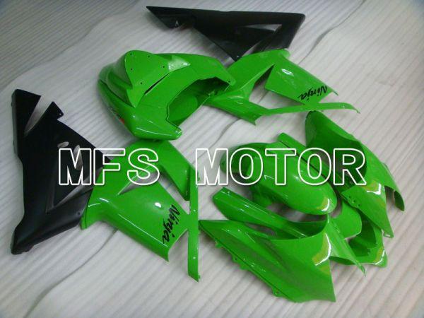 Kawasaki NINJA ZX10R 2004-2005 Injection ABS Fairing - Factory Style - Black Green - MFS3951