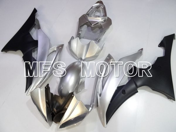 Yamaha YZF-R6 2008-2016 Injection ABS Fairing - Factory Style - Matte Black Silver - MFS3952