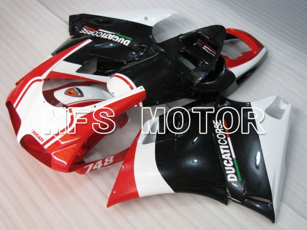 Ducati 748 / 998 / 996 1994-2002 Injection ABS Fairing - Factory Style - Black Red - MFS3953