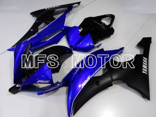 Yamaha YZF-R6 2008-2016 Injection ABS Fairing - Factory Style - Blue Black Matte - MFS3955