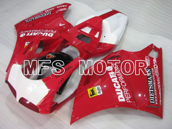 Ducati 748 / 998 / 996 1994-2002 Injection ABS Fairing - Performance - Red White - MFS3956