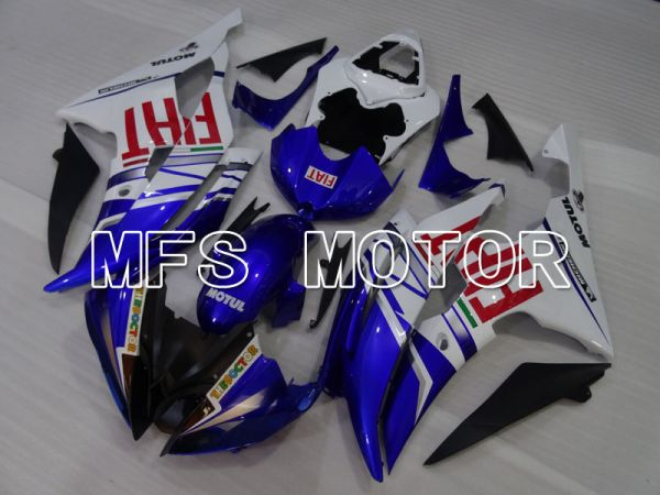 Yamaha YZF-R6 2008-2016 Injection ABS Fairing - FIAT - Blue White - MFS3958