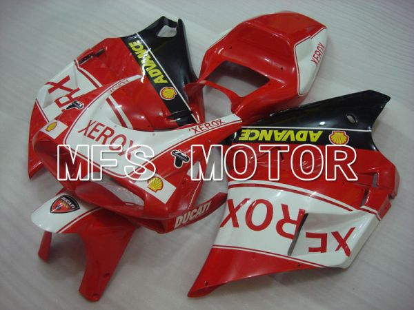 Ducati 748 / 998 / 996 1994-2002 Injection ABS Fairing - Xerox - Red White - MFS3959