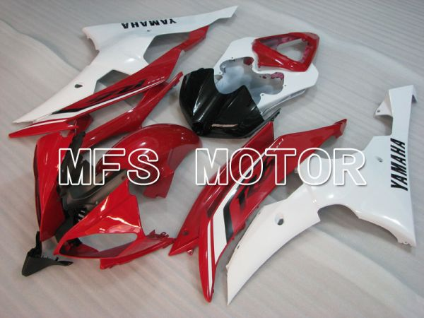 Yamaha YZF-R6 2008-2016 Injection ABS Fairing - Factory Style - Red White - MFS3976
