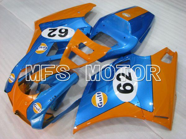 Ducati 748 / 998 / 996 1994-2002 Injection ABS Fairing - Gulf - Blue Orange - MFS3980