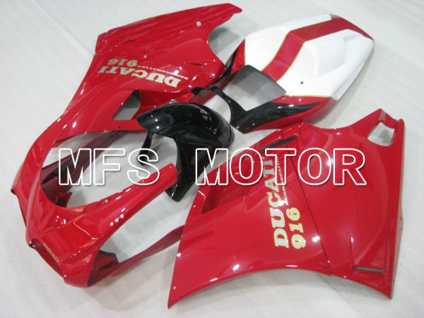 Ducati 916 1994-1998 Injection ABS Fairing - Factory Style - Red - MFS3983