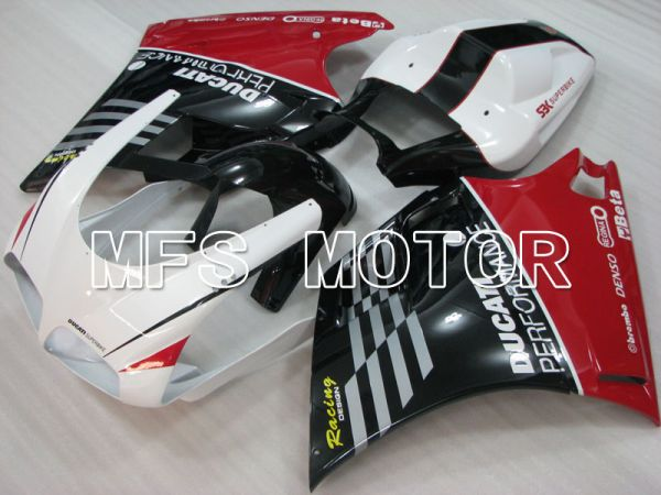 Ducati 748 / 998 / 996 1994-2002 Injection ABS Fairing - Performance - White Black - MFS3984