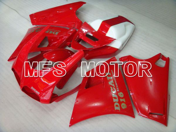Ducati 916 1994-1998 Injection ABS Fairing - Factory Style - Red - MFS3986
