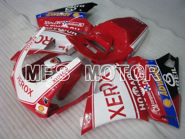 Ducati 748 / 998 / 996 1994-2002 Injection ABS Fairing - Xerox - Red White - MFS3987