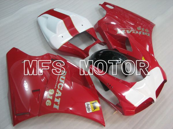 Ducati 916 1994-1998 Injection ABS Fairing - Factory Style - Red - MFS3989