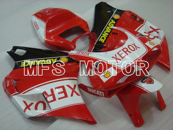 Ducati 916 1994-1998 Injection ABS Fairing - Xerox - Red White - MFS3992