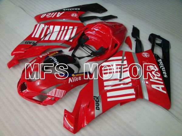Ducati 749 / 999 2003-2004 Injection ABS Fairing - Alice - Red White - MFS3993