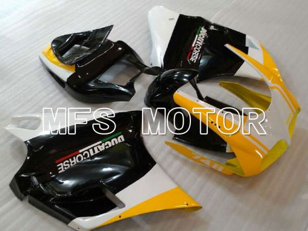 Ducati 916 1994-1998 Injection ABS Fairing - Factory Style - Black Yellow - MFS4003