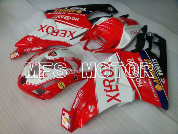 Ducati 749 / 999 2003-2004 Injection ABS Fairing - Xerox - Red White - MFS4018