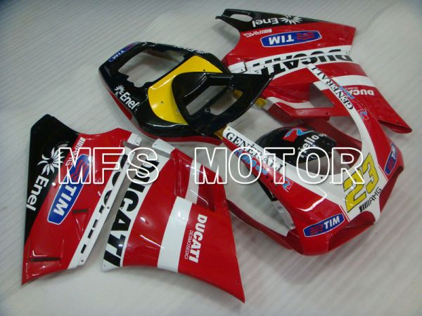 Ducati 916 1994-1998 Injection ABS Fairing - Others - Red White - MFS4030