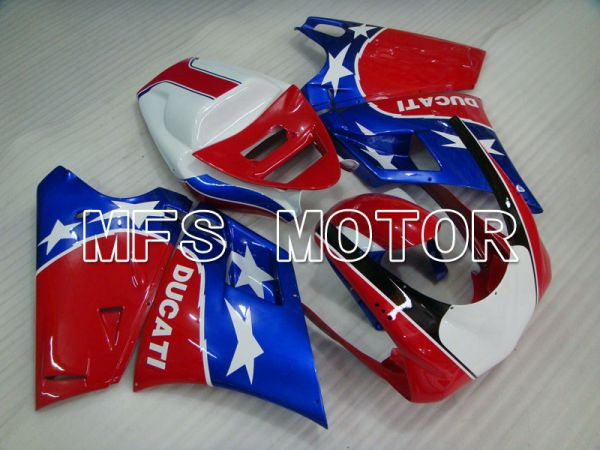 Ducati 916 1994-1998 Injection ABS Fairing - Others - Red Blue - MFS4032