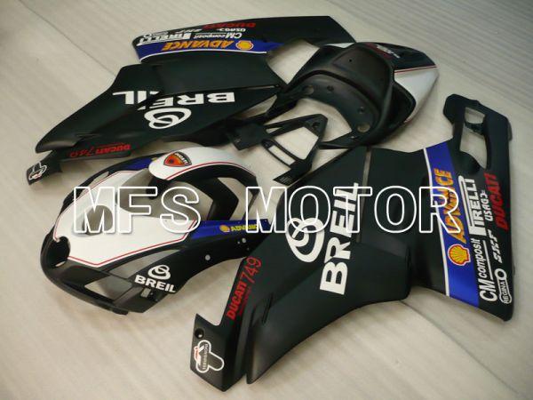 Ducati 749 / 999 2003-2004 Injection ABS Fairing - BREIL - White Black Matte - MFS4036
