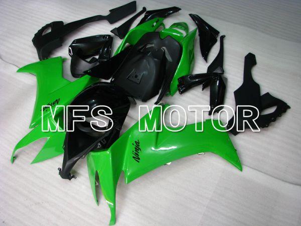 Kawasaki NINJA ZX10R 2008-2010 Injection ABS Fairing - Factory Style - Black Green - MFS4041