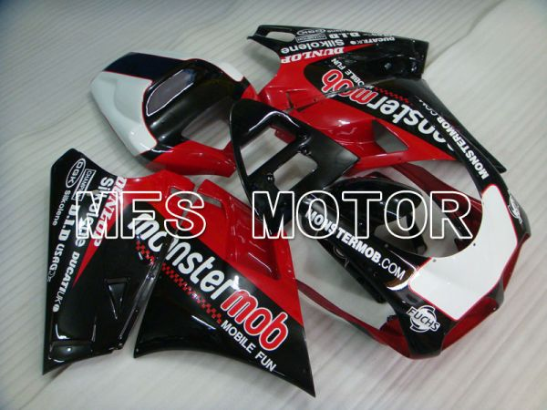 Ducati 916 1994-1998 Injection ABS Fairing - Monstermob - Red Black - MFS4044