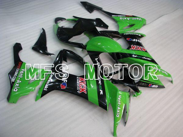 Kawasaki NINJA ZX10R 2008-2010 Injection ABS Fairing - Others - Black Green - MFS4050
