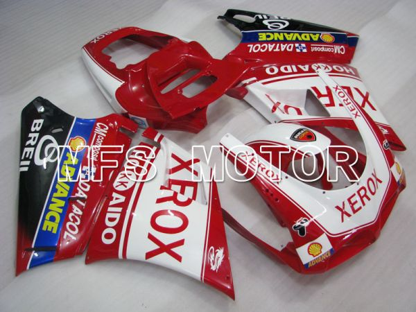 Ducati 916 1994-1998 Injection ABS Fairing - Xerox - Red White - MFS4053